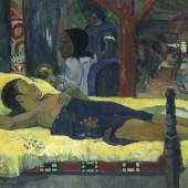 Paul Gauguin (1848 - 1903), Die Geburt – Te tamari no atua (L'enfant- Dieu), 1896  © Bayerische Staatsgemäldesammlungen, Neue Pinakothek München