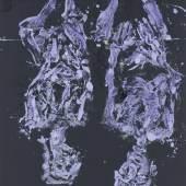 Georg Baselitz, X-ray doppel, 2020. Oil on canvas, 270 x 207 cm (106,3 x 81,5 in) © Georg Baselitz. Photo: Jochen Littkemann.