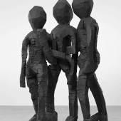 Georg Baselitz BDM Gruppe, 2012 Bronze patiniert / Patinated bronze The George Economou Collection © Georg Baselitz, 2014 Foto / Photo: Jochen Littkemann