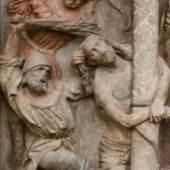 Geißelung Christi (Detail) nach der Restaurierung  Stephansdom, Wien © BDA, Foto: Irene Dworak