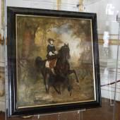 Gemälde Reiterin Elisabeth (c) Dieter Nagl für SKB