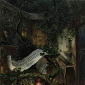 Gemälde Wopfner, Joseph Im Bürgermeistergärtl, Ausrufpreis: 4.500