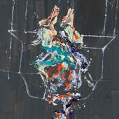 Georg Baselitz, Costa Azzurra II, 2020. Ölfarbe auf Leinwand. 280 x 208 cm (110.2 x 81.9 in) © Georg Baselitz