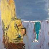 Georg Baselitz, Trinker + Flasche [Drinker + Bottle], 1981 164,6 x 133.2 x 5.5 cm (64,8 x 524,41 x 2,17 in) (GB 2308) Heidi Horten Collection