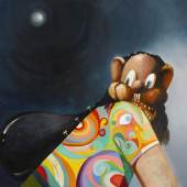 George Condo, The Escaped Hippie, 1934 © George Condo  Artists Rights Society (ARS), New York