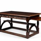George Falkner Armitage, mahogany table with slides, £10,000 – 15,000