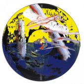 Gerhard Richter Goldberg-Variationen 1984 Mit Öl übermalte Schallplatte Ø 30,1cm Ergebnis: 89.600 Euro