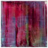 Gerhard Richter Karmin signed, dated 1994 and numbered 810-1 on the reverse oil on canvas 200 by 200 cm.