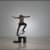 Shaun Gladwell Jesus Esteban in 'Skateboarders vs Minimalism'