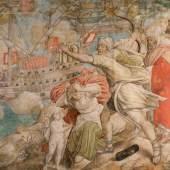 Die Einnahme der Festung La Goletta durch Heer und Flotte (4.6 MB) Detail: Maurische Familie Jan Cornelisz. Vermeyen, 1546-50 (Der Tunis Feldzug Karls V., 6. Karton) © Kunsthistorisches Museum
