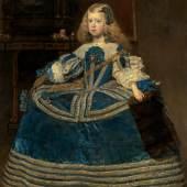 Infantin Margarita Teresa in blauem Kleid (1.5 MB) Diego Velázquez 1659 126 x 106 cm © KHM