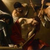Michelangelo Merisi, gen. Caravaggio (1571 Mailand-1610 Porto Ercole) Dornenkrönung Christi um 1601 Leinwand 127 × 166,5 cm © KHM-Museumsverband