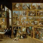 Erzherzog Leopold Wilhelm in seiner Galerie in Brüssel David Teniers d. J. um 1651 ©KHM mit MVK und ÖTM