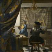 Die Malkunst Johannes Vermeer Um 1666/68 Öl auf Leinwand 120 x 100 cm © Wien, Kunsthistorisches Museum