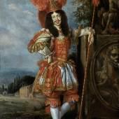 Kaiser Leopold I. (1640 – 1705) im Theaterkostüm (1.3 MB) Jan Thomas (Ypern 1617 – 1678 Wien) 1667 33,3 x 24,2 cm © KHM mit MVK und ÖTM