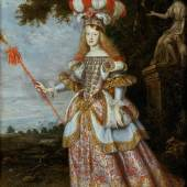Infantin Margarita Teresa (1651-1673), Kaiserin, im Theaterkostüm (1.4 MB) Jan Thomas (Ypern 1617 – 1678 Wien) 1667 33,3 x 24,2 cm © KHM mit MVK und ÖTM