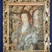 GHEERAERTS, Marcus II, attr. (Brügge 1561/62-1636 London; Sohn d. Marcus G.I., ab 1568 in London ans.; porträtierte Königin Elisabeth u.a.), Porträt eines jungen englischen Adeligen im Garten, Öl/Hz. aufgez. 90x71