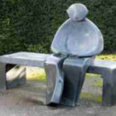 Giles Penny's Man on Bench