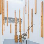 """Blick in die Ausstellung """"Giuseppe Penone"""" (13.04.2019 - 28.06.2020) in der Modernen Galerie des Saarlandmuseums in Saarbrücken © VG Bild-Kunst, Bonn 2019 Foto: Oliver Dietze/Stiftung Saarländischer Kulturbesitz"""