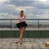 Polina Kanis  WORKOUT, 2011  Video  Edition: 5+2AP, 11 min 50 sec  € 4.500,-  © Polina Kanis and Galleria Glance, Turin