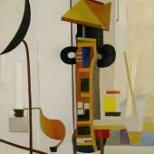 Fritz Glarner, Painting, 1937 Öl auf Leinwand, 81,5 x 71 cm Kunsthaus Zürich, Legat Louise Glarner, 1979, © 2019 Kunsthaus Zürich, The Estate of Fritz Glarner