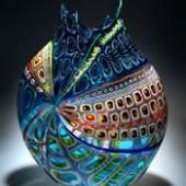 Glaskünstler David Patchen Exklusive Glasobjekte internationaler Künstler The Glass Place / Mag. Sikabonyi