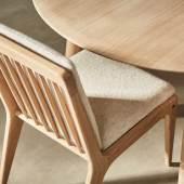 Gleda Dining-Chair Oak-Whiteoil