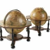 Johann Gabriel Doppelmayr Zwei Tischgloben. Um 1790 Schätzung: € 40.00
