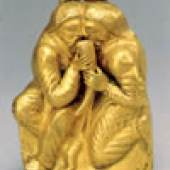 Skythen-Goldschatz, Verbrüderung mit Trinkhorn