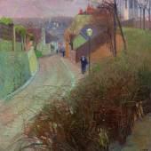 Carl Moll (1861 - 1945) Blick von der Hohen Warte auf Heiligenstadt, um 1900, Öl/Leinwand, 80 x 80 cm Schätzwert € 280.000 - 360.000 Auktion 28. November 2013