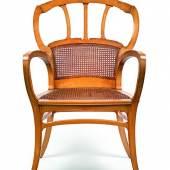 Victor Horta, Sessel aus der Villa Aubecq, Brüssel, 1899 - 1903 Schätzwert € 10.000 - 15.000 Auktion 26. November 2013