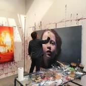 B.U.: Gottfried Helnwein; Rechte by Geuer & Geuer Art