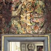 Dutch Gilt leather wall hanging, Anonymous, ca. 1650–1660, Castle Skokloster in Sweden.