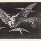 Goya Blatt 13, Los Disparates, © Museum Lothar Fischer