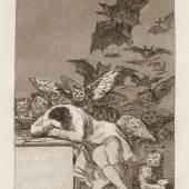 Goya Blatt 43, Los Caprichos, , © Museum Lothar Fischer