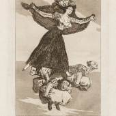 Goya Blatt 61, Los Caprichos, © Museum Lothar Fischer