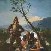 FRANCISCO DE GOYA (1746–1828) Die Tabakzöllner, 1780  Öl auf Leinwand, 262 x 137 cm © Museo Nacional del Prado Photographic Archive, Madrid