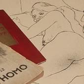 """Höhepunkt im Bereich der Grafik sind 2 günstig limitierte Komplettausgaben des """"Ecce Homo"""" von George Grosz."""