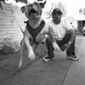 Gregory Bojorquez BETO & BOB'S DOG 1999 copyright Gregory Bojorquez