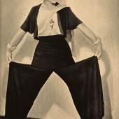 """Hosenmode, aus der Zeitschrift """"Das Magazin"""", 1931 © Münchner Stadtmuseum"""