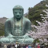 Der Große Buddha von Kamakura/Japan Bronzeguss, Mitte 13. Jh. (Foto: Stephan v. d. Schulenburg)