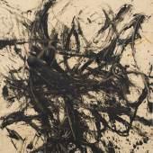"""Günter Brus, """"Ohne Titel (Informel)"""", 1960, Mischtechnik mit Tusche und Gouache auf Papier, 124,9 x 89,5 cm, BRUSEUM/Neue Galerie Graz, UMJ, Foto: Universalmuseum Joanneum/N. Lackner"""