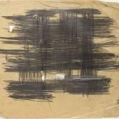 """Günter Brus, """"Ohne Titel (Mallorca)"""", 1960, Graphit auf Papier, 46,5 x 55 cm, BRUSEUM/Neue Galerie Graz, UMJ, Foto: Universalmuseum Joanneum/N. Lackner"""