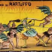 Tafel zu «Guido Santo», erste Hälfte 20. Jh. Leimfarbe auf Papier, 149 x 292 cm Sammlung Würth, Künzelsau