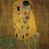 Gustav Klimt, Liebespaar (Kuss), 1908/09 (c) Belvedere, Wien