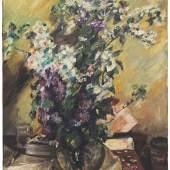 Lovis Corinth, Apfelblüten und Flieder, 1920, Hilti Art Foundation