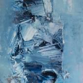Hamo - Ohne Titel IV, Öl auf Papier, 25 x 20 cm