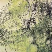Hans Hartung, T 1989-H5, 1989, Acryl auf Leinwand, 180 x 180 cm, erzielter Preis € 198.500