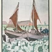 Hans Förster, Gemüseewer an der Dove-Elbe, um 1905-1915, Sammlung Altonaer Museum Foto: SHMH/Michaela Hegenbarth