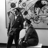 Hans Haacke Kandinsky 2 Crops Studs, 1959 Fotonotizen, documenta 2 1 von gesamt 26 schwarz-weiß Fotografien © Hans Haacke / VG Bild-Kunst. Courtesy Hans Haacke und Paula Cooper Gallery, New York